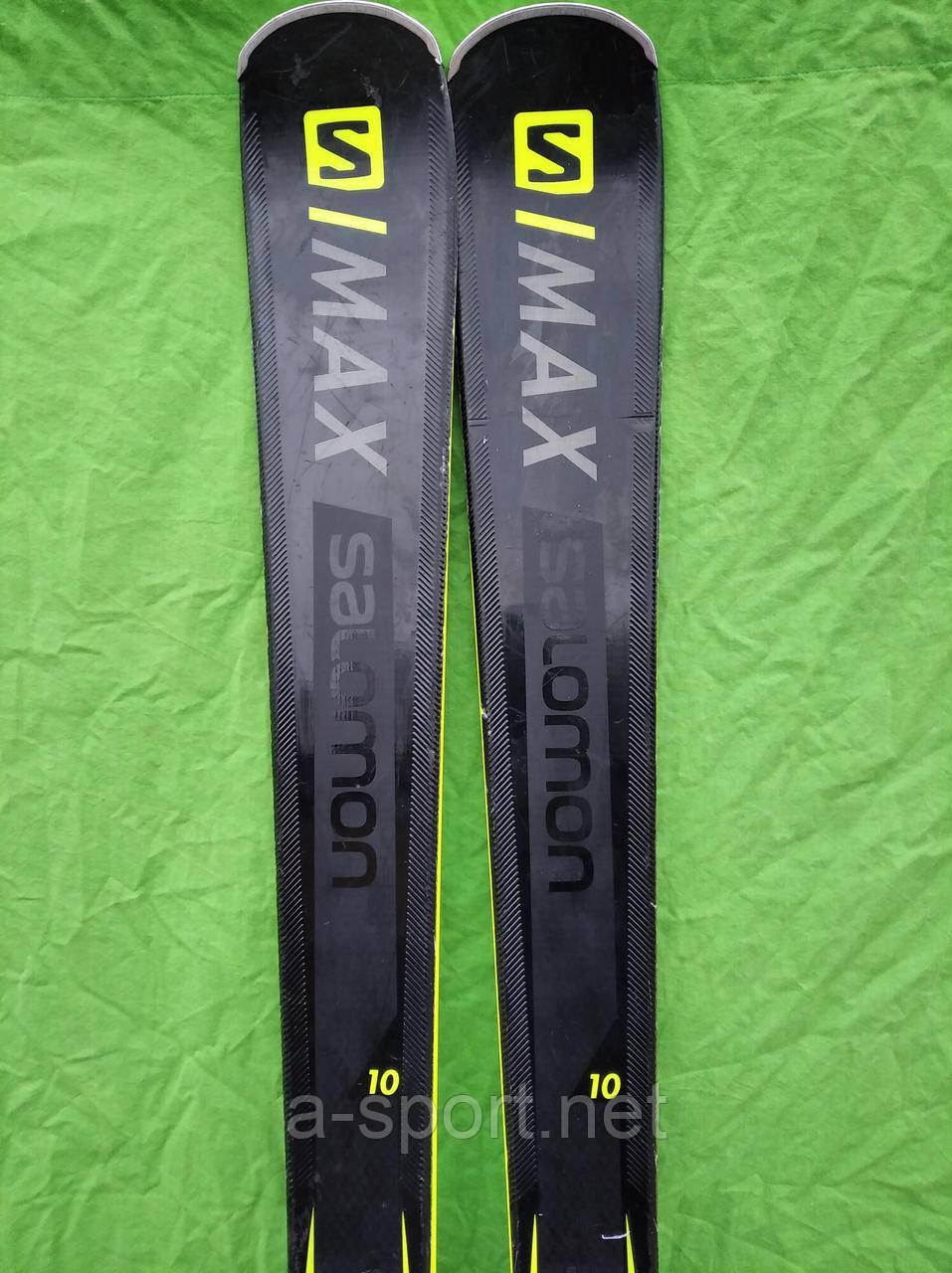Гірські лижі бу Salomon X-Max X10 175 см експертний карвінг 2019р