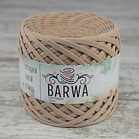 Трикотажная пряжа BARWA standart 7-9 мм. (полубобина)  цвет Имбирь