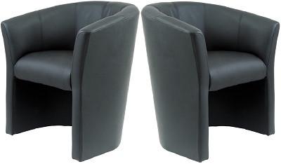 Кресло Бум черное - картинка