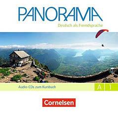 Panorama A1 Audio-CDs zum Kursbuch