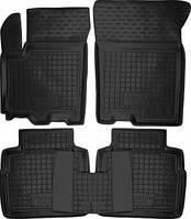 Коврики в салон Suzuki SX4 2013 -> черный, кт - 4шт