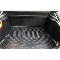 Полиуретановый автомобильный коврик в багажник Renault Laguna II (Рено Лагуна 2) с 2001-2006 хэтчбек