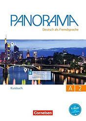 Panorama A2 Kursbuch mit Augmented-Reality-Elementen