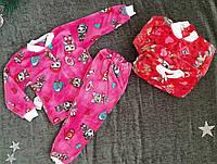 """Детская пижама на травке """"LOL"""", на девочку, р. 26,28,30, микс"""