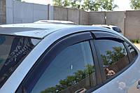 Боковые дефлекторы Hyundai Elantra IV Sd 2007 (Хьюндай Елантра) Cobra Tuning