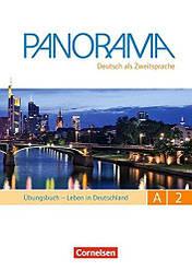 Panorama A2 Übungsbuch DaZ mit Audio-CDs