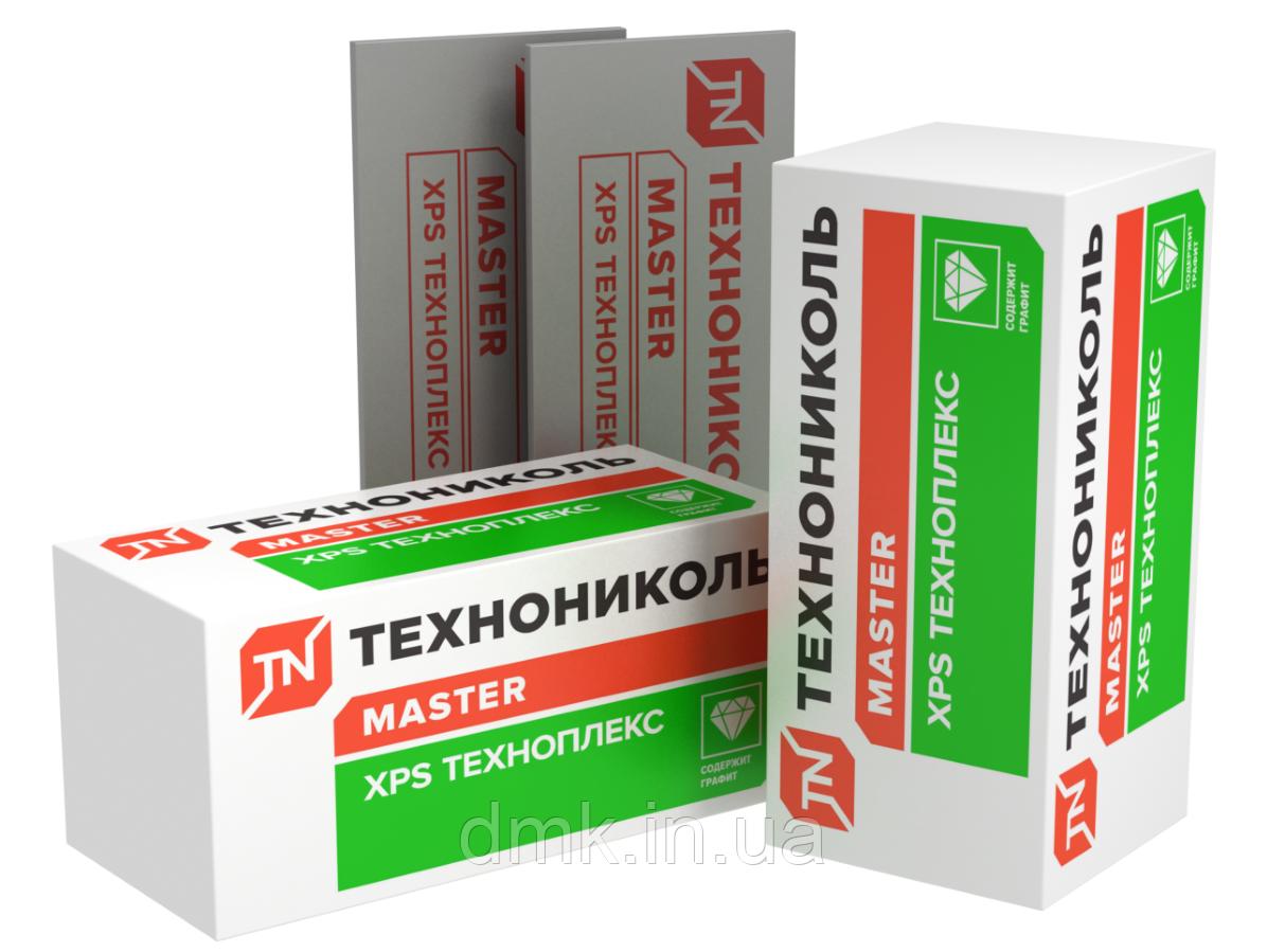 Экструдированный пенополистирол Технониколь  Техноплекс 100 мм ( 1.1 м х 0.55 м )