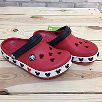Детские кроксы Crocs Crocband Mickey ІI Kids 26-27 разм. С 10/11, фото 1