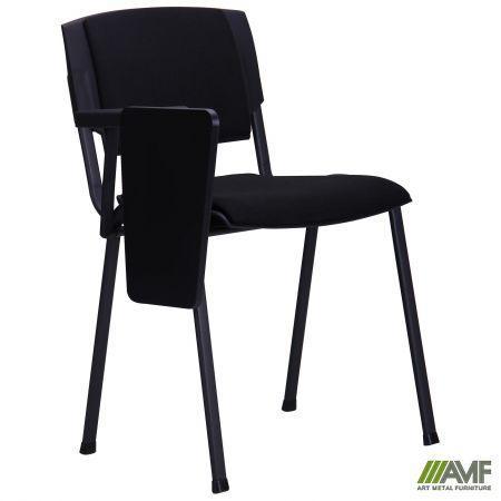 Офисный стул Призма чёрный А-01 со столиком AMF