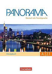 Panorama A2.1 Übungsbuch DaF mit Audio-CDs