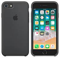 Чехол Silicone Case для Apple iPhone 7, iPhone 8 Темно - Серый