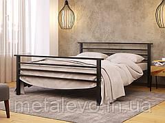 Металлическая кровать с изножьем ЛЕКС-2 ТМ Метакам