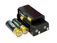 Блок под 4шт. батарейки типа АА для лазерного уровня Fukuda, Firecore, Huepar