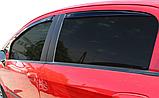 Дефлектори вікон вставні Fiat Grande Punto 5D 2006->, 4шт, фото 2