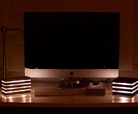 Cветильник USB из дерева