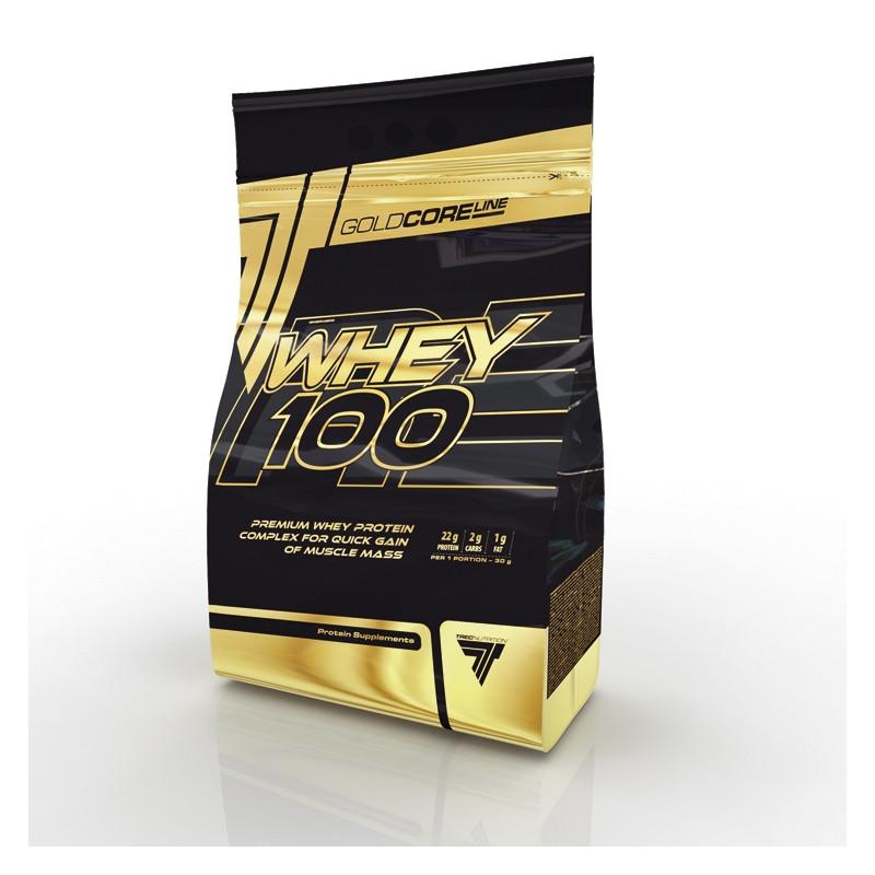 Высококачественный концентрат белка сыворотки GOLD CORE WHEY 100, WHEY 100   900 г