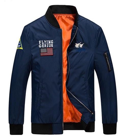 Flying Gerius original мужская куртка милитари ветровка демисезон