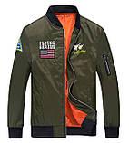 Flying Gerius original чоловіча куртка мілітарі вітровка демисезон, фото 2