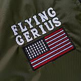 Flying Gerius original чоловіча куртка мілітарі вітровка демисезон, фото 8