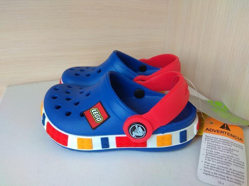 Кроксы детские Crocs Crocband LEGO 34 разм. J3