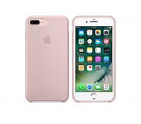 Чехол Silicone Case для Apple iPhone 7 Plus, iPhone 8 Plus Бледно - Розовый