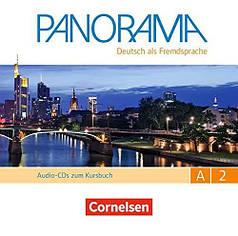 Panorama A2 Audio-CDs zum Kursbuch
