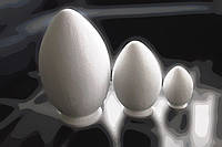 Яйцо из пенопласта 50см