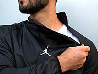 Анорак (ветровка) Jordan черный
