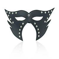 Черная маска кошки, фото 1