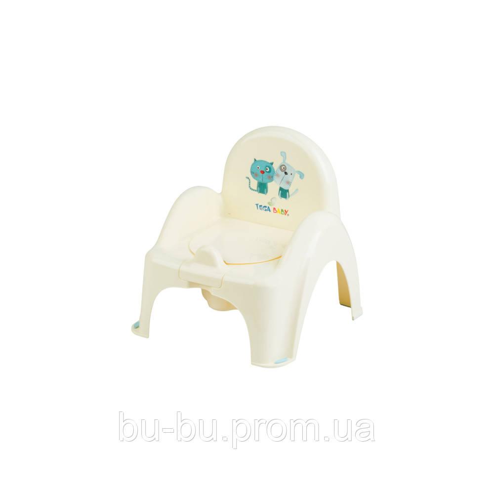 Горшок-стульчик Tega Dog & Cat PK-007 102 yellow