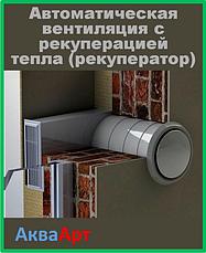 Автоматична вентиляція з рекуперацією тепла