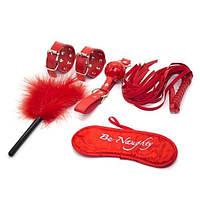 Бондажный набор красный