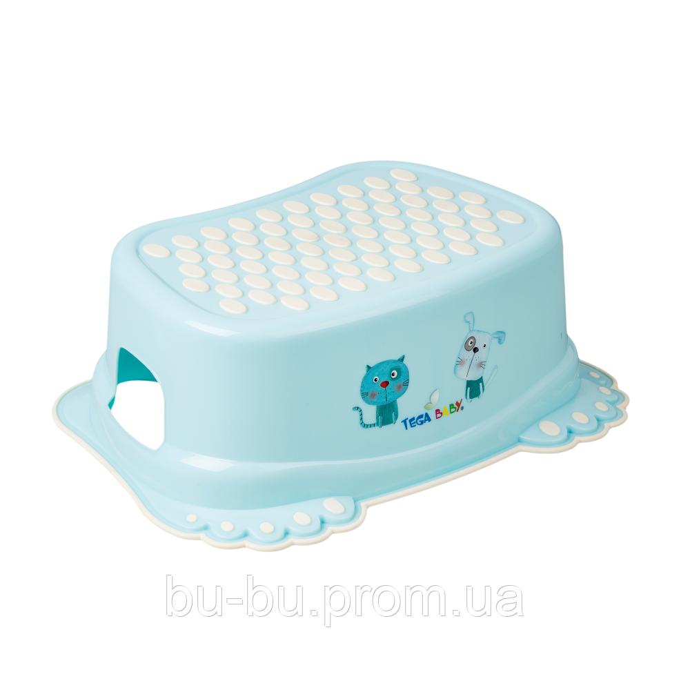 Подставка Tega Dog & Cat PK-006 нескользящая 101 light blue