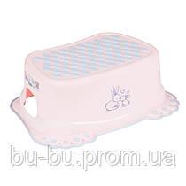Подставка Tega Little Bunnies KR-006 нескользящая 104 light pink