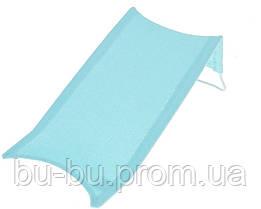 Горка для купания Tega Thick Frotte (махра) DM-015 135 light blue