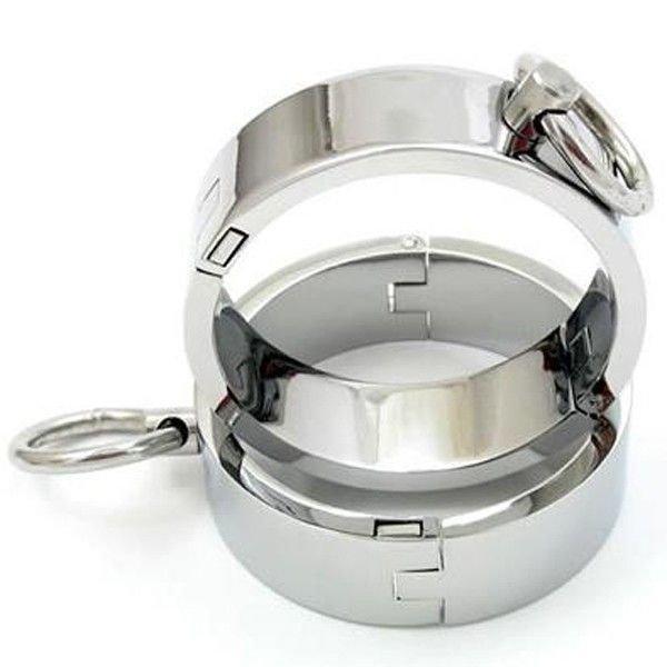 Unisex стальные оковы для рук - L
