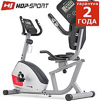 Горизонтальный велотренажер HS-035L Solo Silver до 135 кг