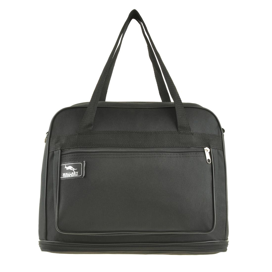 Дорожная сумка-трансформер Wallaby 39 х 29(+12) х 20 ткань полиэстер 600Д 1 раскладка вниз в 2070