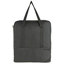 Дорожная сумка-трансформер Wallaby 39 х 29(+12) х 20 ткань полиэстер 600Д 1 раскладка вниз в 2070, фото 3