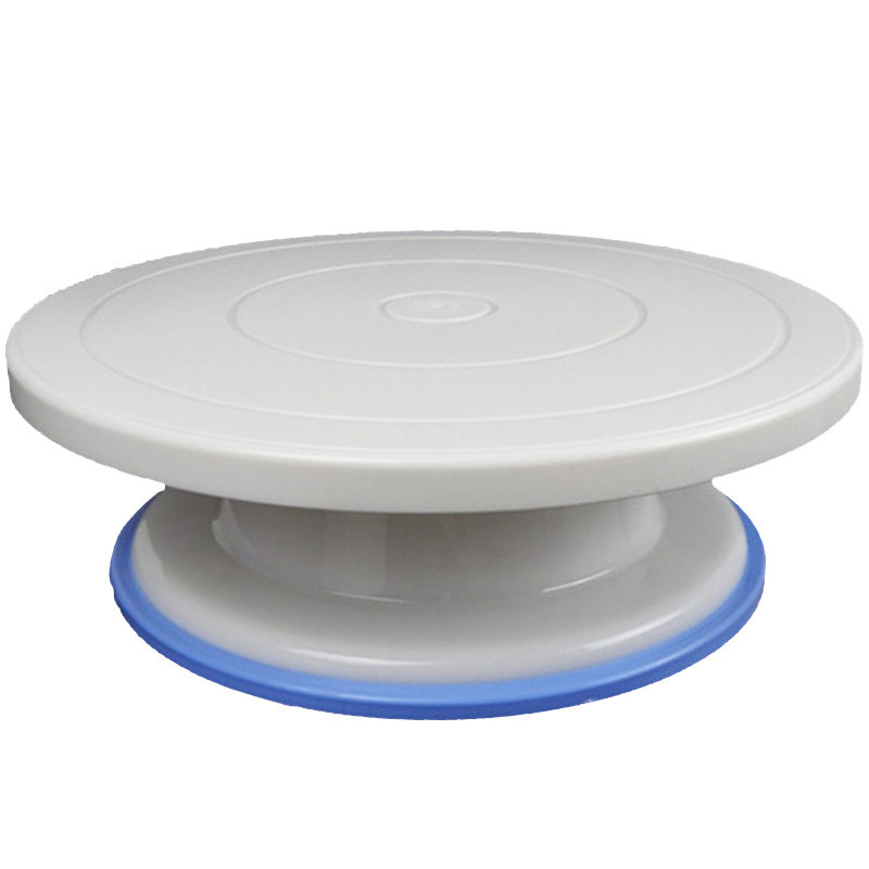 Столик вращающийся для декорирования пластик антискольжение