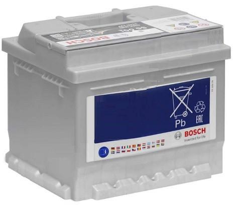 Оснащение и комплектация Bosch S5 Silver Plus 6СТ-52 H Евро