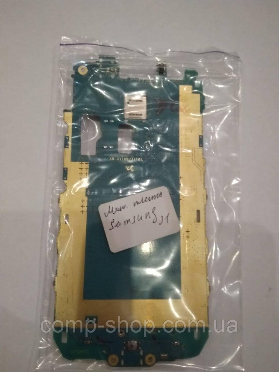 Материнская плата Samsung J1 оригинал бу, запчасть с разборки