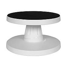 Обертовий Столик для декорування пластик з нахилом
