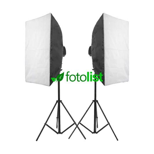 Набор постоянного света Visico FL-307 (50x70см) Easy Kit, 10х38w, 1900 Вт, 5500К