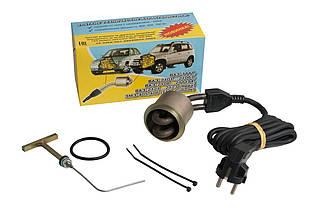 Предпусковой электроподогреватель двигателя ЭМ2-45мм, 0,6кВт, 220Вт, для моторов БМВ М20, М21 и других авто