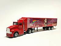 Сувенирная ( подарочная) модель Рождественского грузовика Coca-Cola , масштаба 1:87