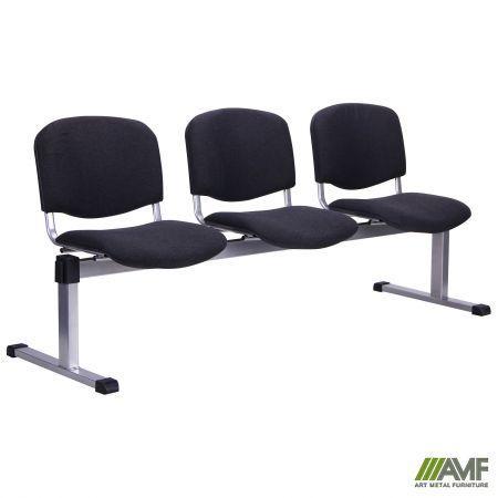 Офисный стул Изо 3-х рядный Ткань А AMF