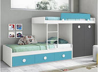 Детская кровать для двоих детей ДМ 708