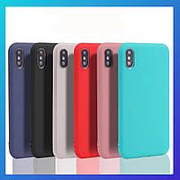 Чехол iphone X ультратонкий Transparent