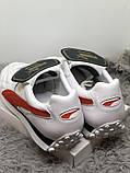 Мужские кеды, кроссовки из натуральной кожи 45 и 47 puma king avanti, фото 2